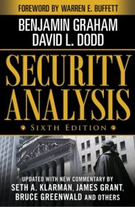 Security Analysis by Benjamin Graham and David Dodd
